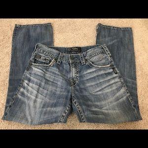 Silver Jeans Zac Jeans Size 30 Bootcut